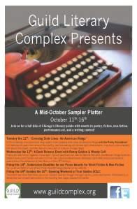 Guild Literary Complex October Sampler