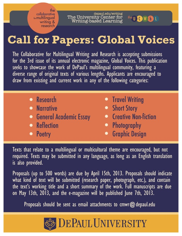 Global Voices CFP