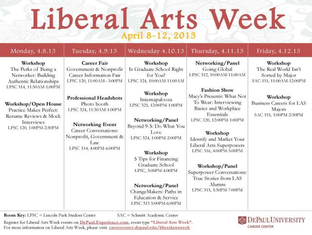 Liberal-Arts-Week-Schedule