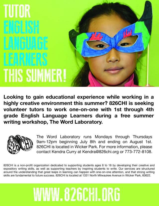 Word Lab flier