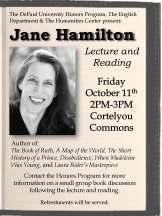 Jane Hamilton flyer